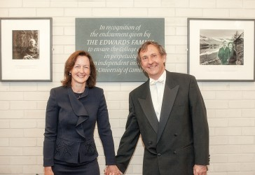 Photo of Ros and Steve Edwards