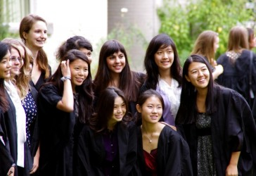 Photo of students at matriculation