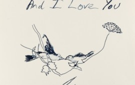 Tracey Emin 'Birds' 2012